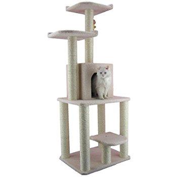 """armarkat Cat tree 62"""" to 64"""" $62 @amazon @wayfair fs"""