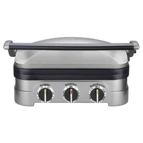 Cuisinart Griddler – at Target – Stainless Steel GR-4N $51