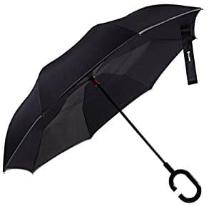 Glamore Inverted Double Layer Windproof UV Protection Reverse folding Umbrella for $11.49