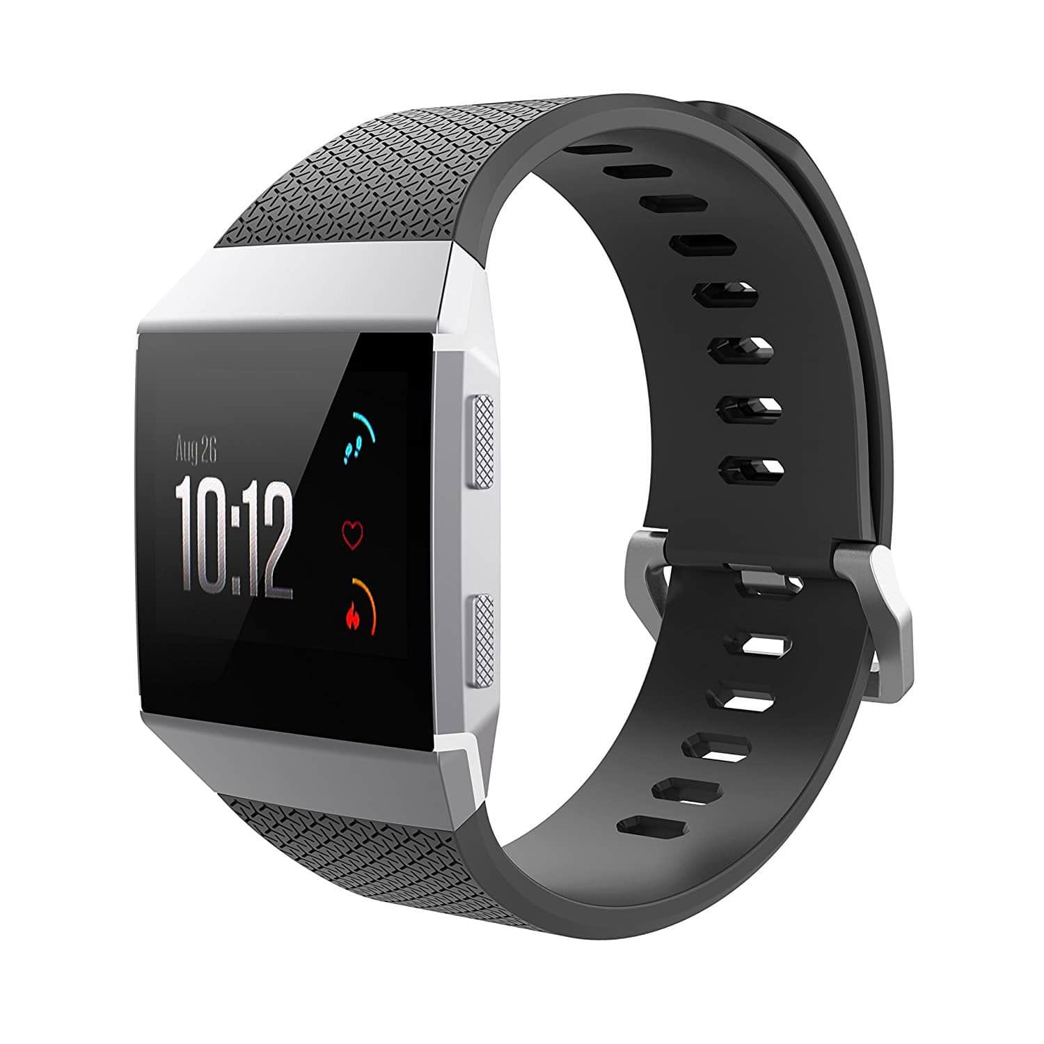 Hagibis Replacement Classic TPU Sport Strap Wristbands for Fitbit Ionic Smart Fitness Watch for $4.99