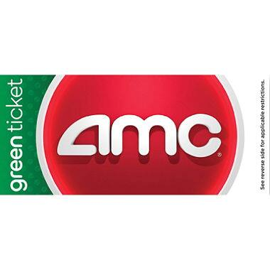 Verizon Smart Rewards Members: AMC Green Movie Tickets 2-pack for $12 + 1,400 Points w/ Free S&H (VZW Customers Only)