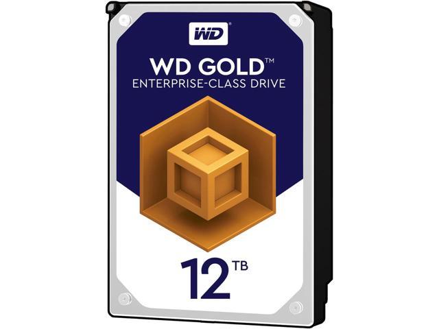 WD Gold 12TB Enterprise HDD - 7200 RPM & 256MB Cache - WD121KRYZ - $413.99 @ Newegg
