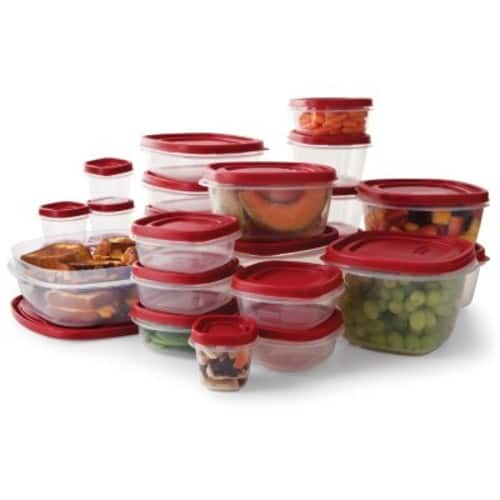 Rubbermaid 50-Piece Easy Find Lids Food Storage Set $11