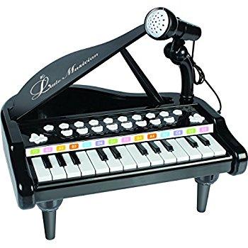 Mallya 24 Keys Keyboard Kids Toy Piano with Microphone $12.59