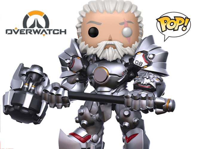 Funko - Overwatch: Reinhardt no mask POP! Vinyl Figure $21