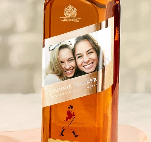 FREE Johnnie Walker Personalized Bottle Labels (Ages 21 & Older Only)