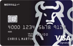 MERRILL+ Visa Signature Credit Card (Phone Apply ONLY) - 50K Points (worth upto $1000) after $3K spend. No Fee