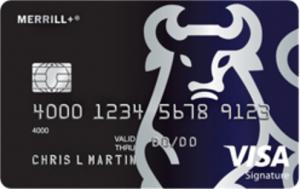 merrill visa signature credit card phone apply only 50k points worth upto - Visa Signature Credit Card