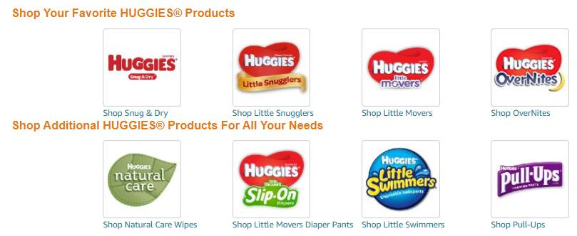 Free $10 Amazon gift card with $50 worth of Huggies products