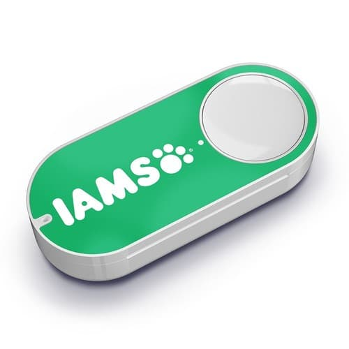Prime Members: Iams Dash Button + $4.99 Credit FOR IAMS ITEMS ONLY w/ First Press  $0.99