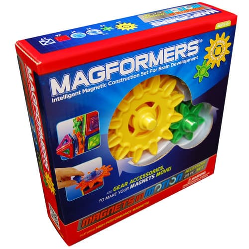 Magformers Magnets in Motion Gear Accessory Set $9.99