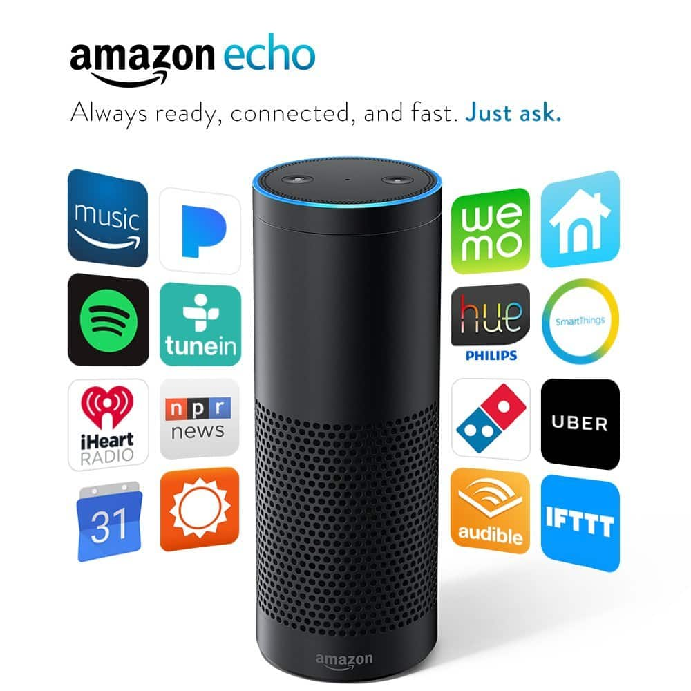 Certified Refurbished Amazon Echo (1st Generation) $69.99