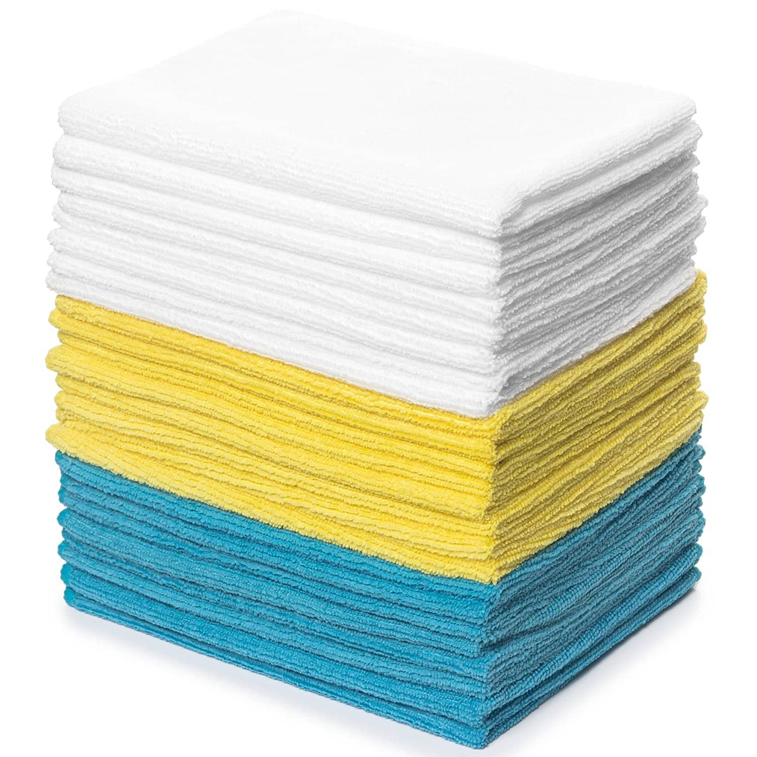 Royal Reusable Microfiber Cleaning Cloth Set - 12 x 16 Inch Microfiber Cloth - 24 Pack $8.97