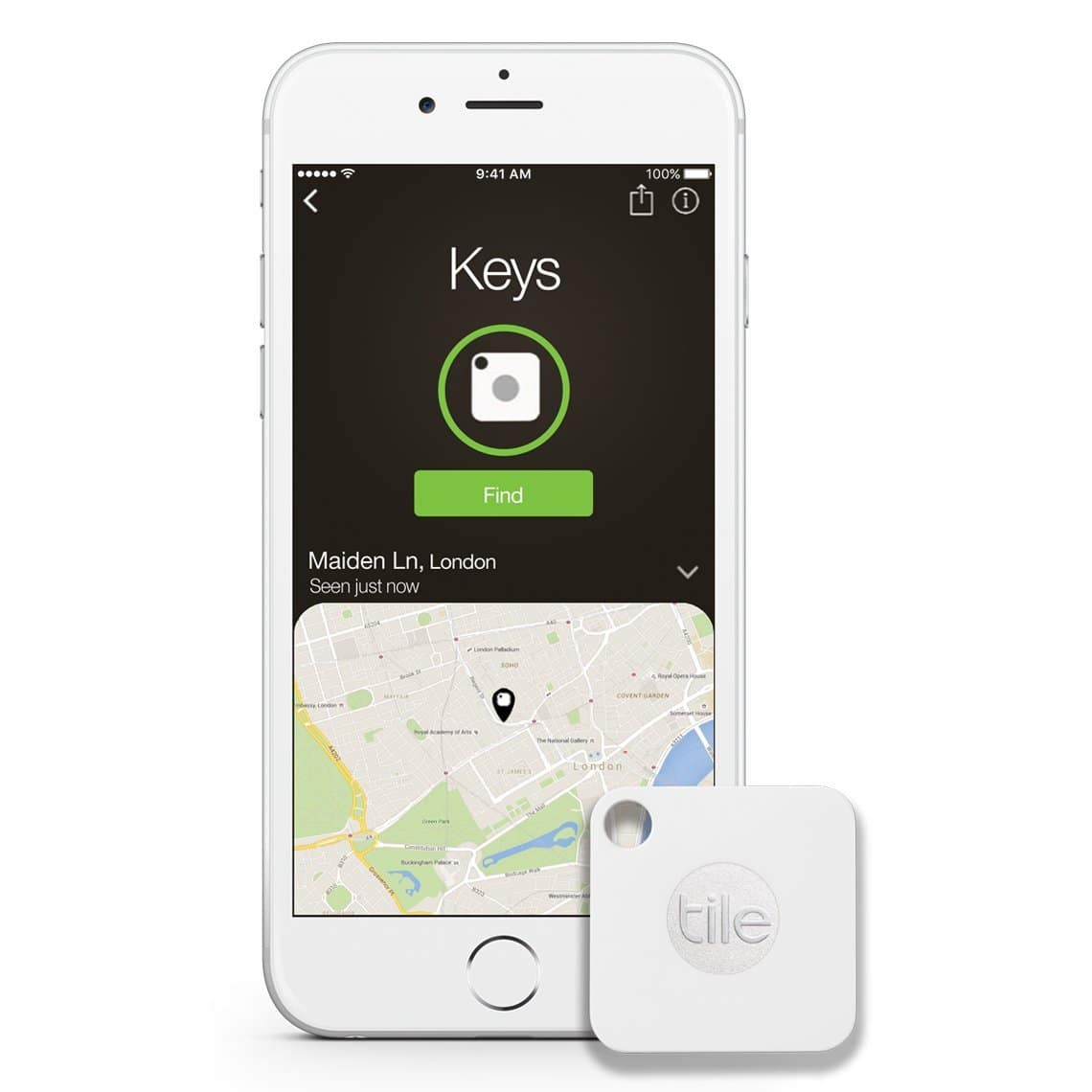 Tile Mate - Key Finder. Phone Finder. Anything Finder - 4 Pack $19