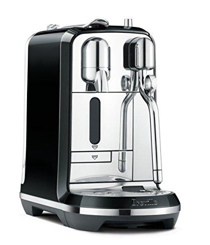 Breville Nespresso Creatista Single Serve Espresso Machine with Milk Auto Steam Wand, Black $227.99