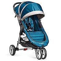 Baby Jogger City Mini Stroller In Teal, Gray Frame, BJ11429 Teal/Grey