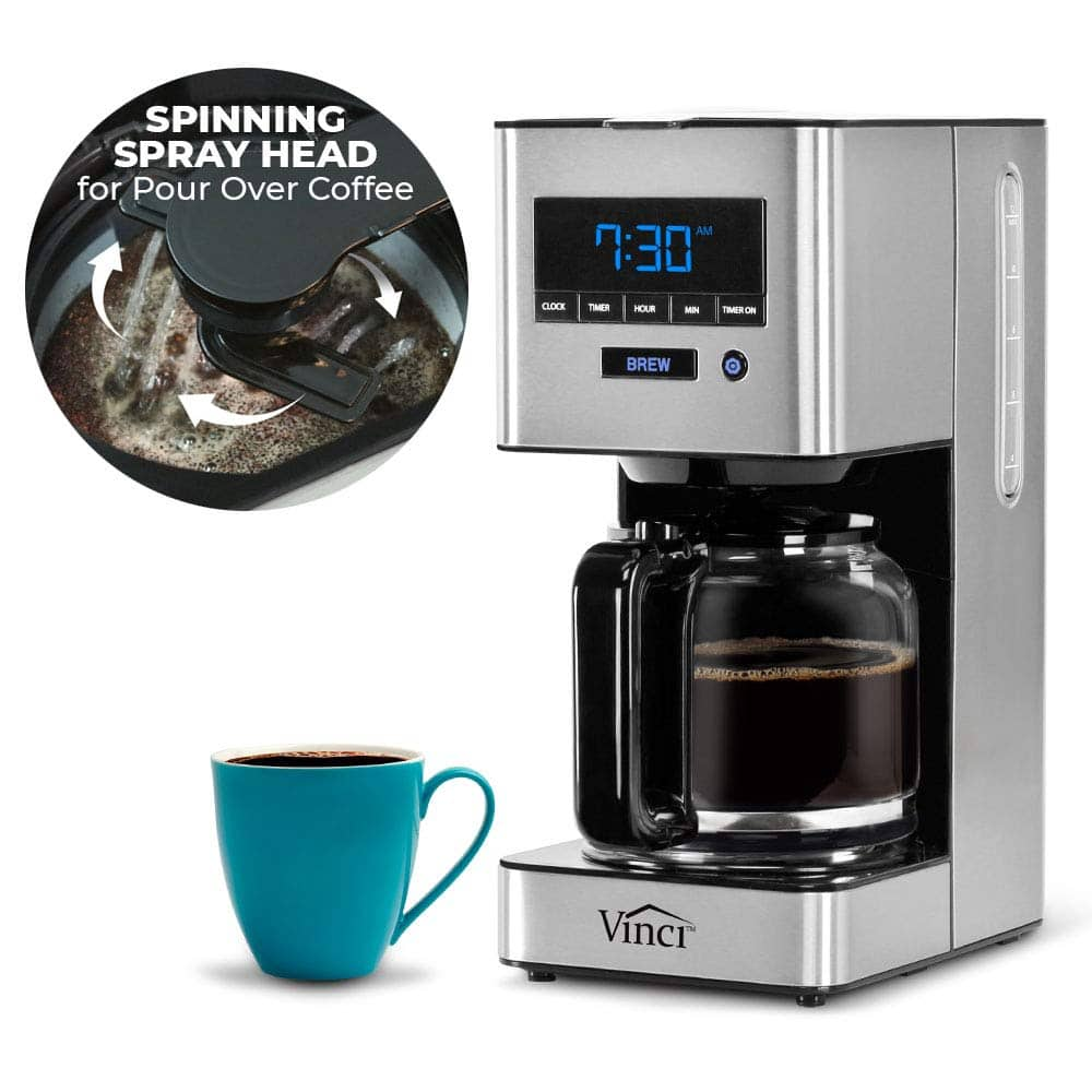 Vinci Auto Pour Over Carafe Coffee Maker - $99.99 + Free Shipping