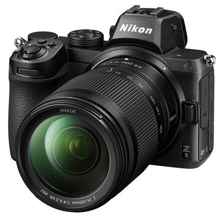 $1,599.00 Nikon Z5 w/ Nikkor Z 24-200mm f/4-6.3 VR Zoom Lens - Refurbished by Nikon U.S.A. $1694.94