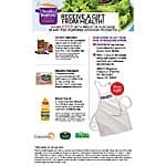 Health Magazine apron free WYB two featured products 8/15 - 9/21/15