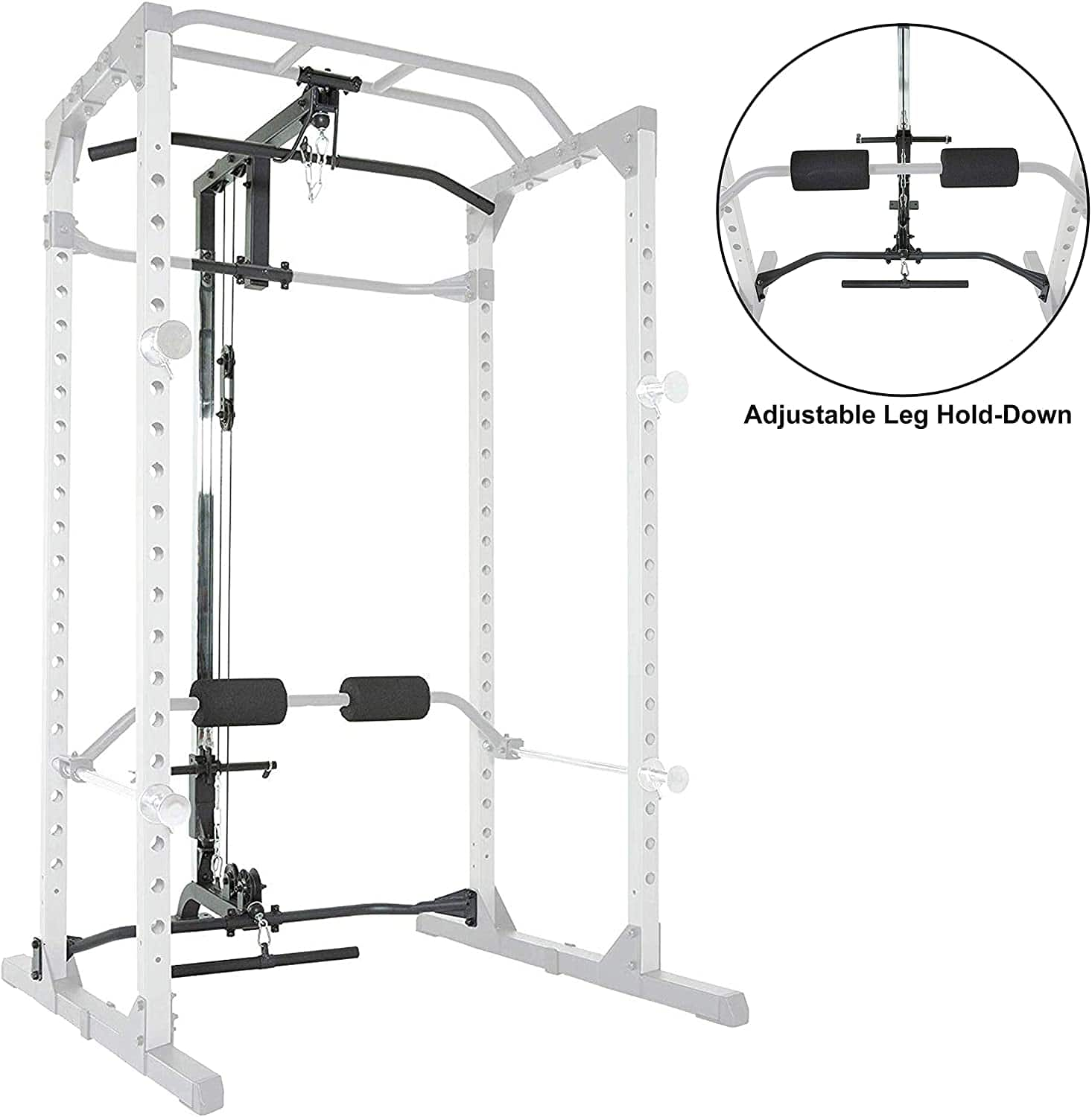 Amazon.com : Fitness Reality Lat Pull-down for 810XLT Super Max Power Cage : Sports & Outdoors $229
