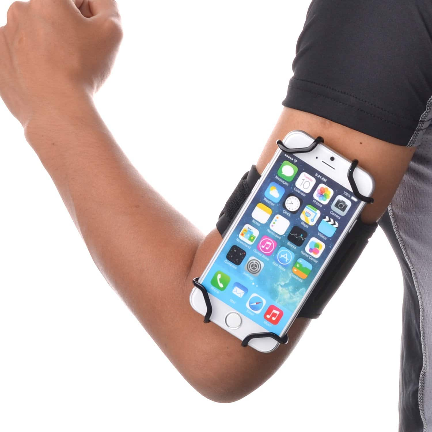 Open-face Sport Armband + Key Holder for Over 5.5 Inch Phones $9.48 @ Amazon