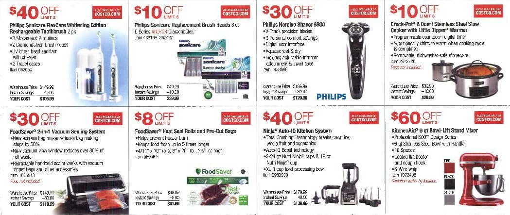 Costco Coupons November 2016 -  It will run from Oct  27th - Nov 27th
