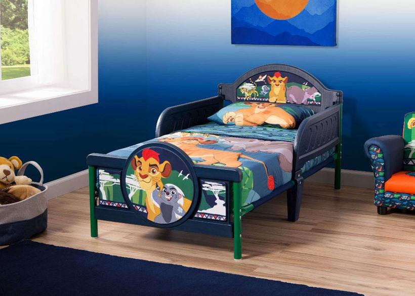Disney Jr. The Lion Guard 3D Toddler Bed at Toys r us $30