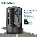 $30 OFF Mini 0806 Dashboard Camera Amba A7LA50+OV4689, SplashETech Dvr Car Camera W/ GPS Logger + MLC TF Card [Full HD 1296P] $99.99AC@ Amazon.com