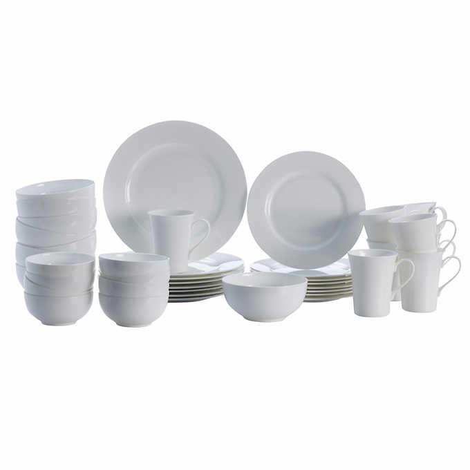 Costco Members: Mikasa Lausanne 40-piece Bone China Dinnerware Set $80 + Free Shipping $79.99