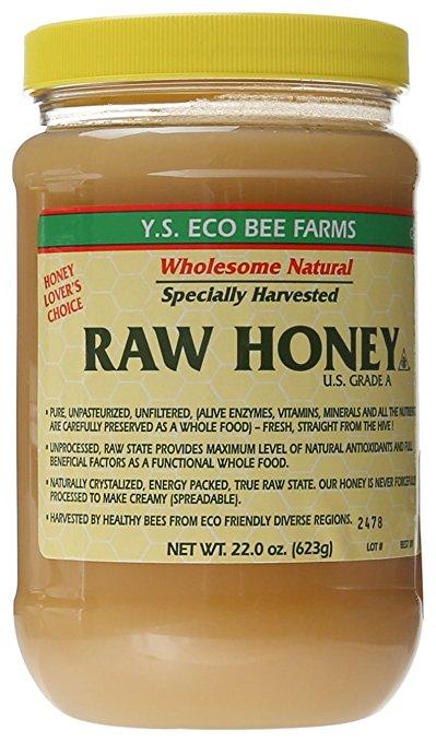 Y.S. Eco Bee Farms Raw Honey - 22 oz $7.49