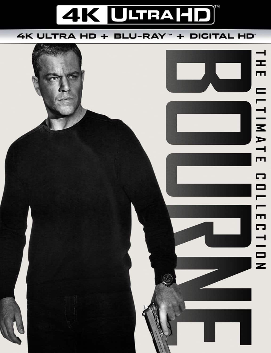 The Bourne Ultimate Collection (4K UHD Blu-ray) $40