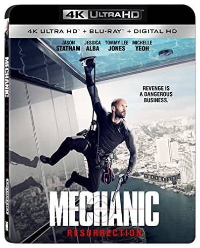 Mechanic Resurrection 4K Ultra HD + Blu-ray + Digital Copy $10