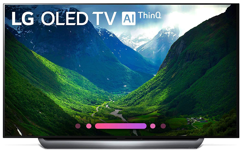 """LG OLED65C8P 65"""" 2018 OLED 4K UHD HDR Smart TV ThinQ New $2299"""
