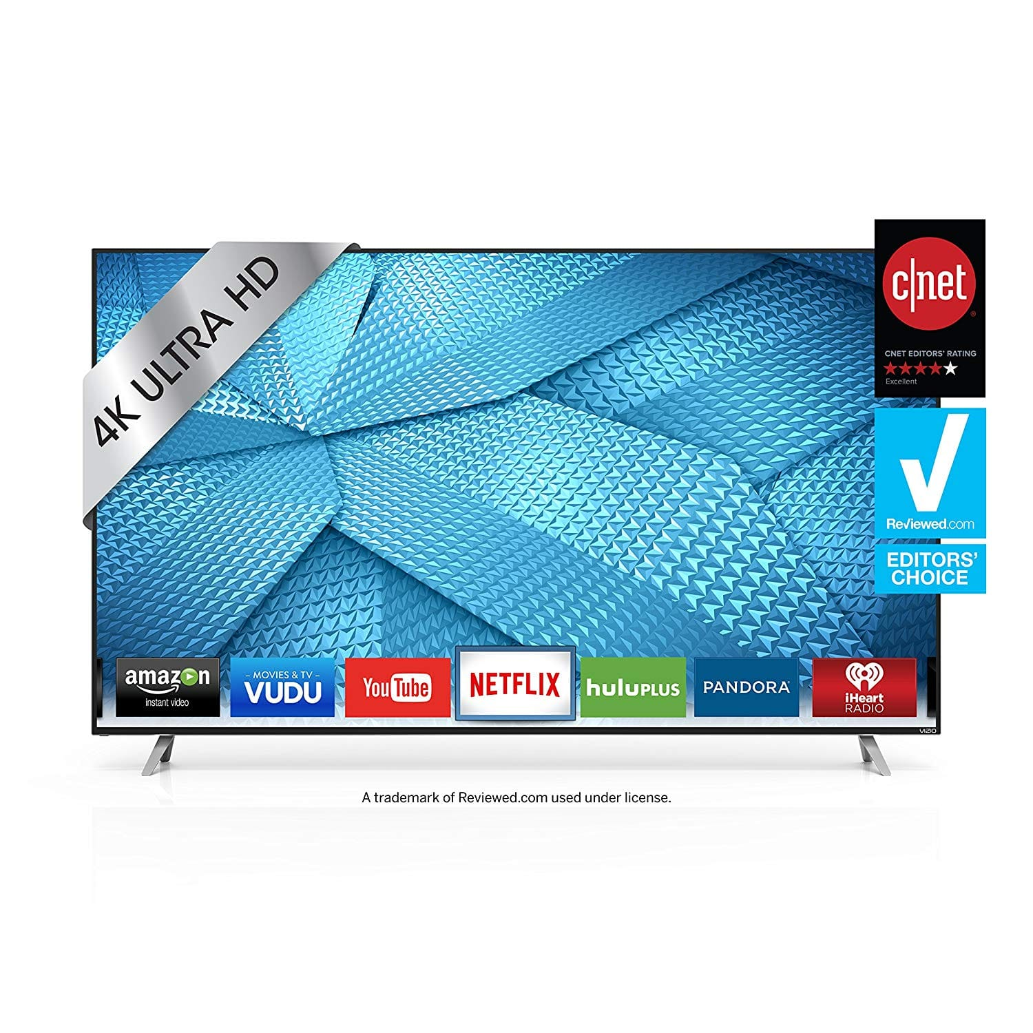 "Refurbished VIZIO M-Series 70"" Class UHD Full Array LED Smart TV - M70-C3 $599.99"