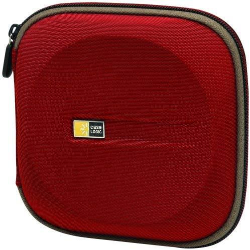 Case Logic EVW-24 EVA Molded 24 Capacity CD/DVD Case (Red) $0.1