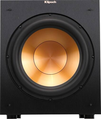 """Klipsch - Reference 12"""" 400W Powered Subwoofer - Black for $224.99 + tax + FS in BestBuy"""