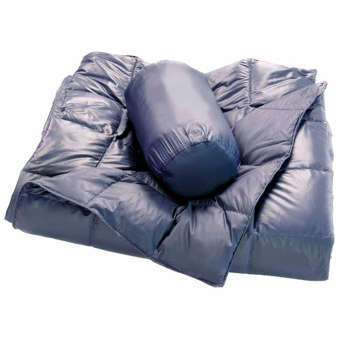 Double Black Diamond Packable Down Throw 2-pack @Costco - $39.99