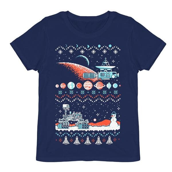 LootVault 55% off sitewide. Holiday Sweater T-shirt $2.20 + shipping