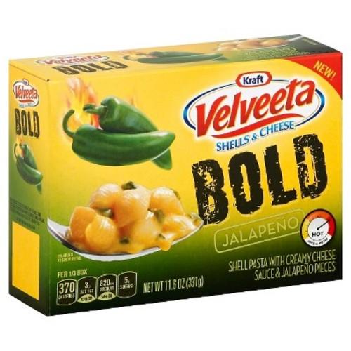 Kraft Velveeta Bold Jalapeno Shells & Cheese, 11.6 oz Amazon S&S $1.98 with 5 or $2.21