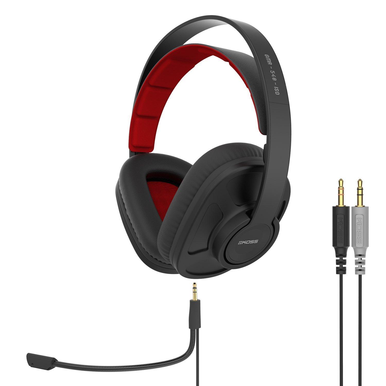 Koss GMR-540-ISO Closed-Back Gaming Headphones - $48 FS Lightning Deal