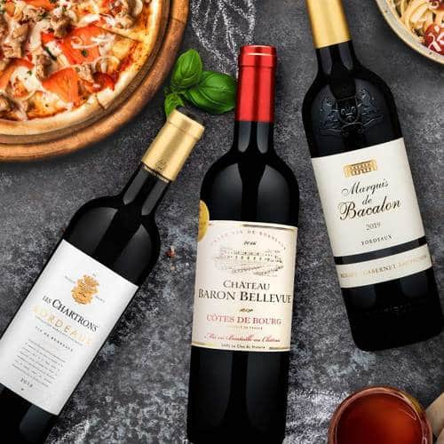 Martha Stewart Wine: 2 packs of BORDEAUX REDS TRIO (6 bottles) for $50.40 + tax (with 30% off coupon) and FREE SHIPPING