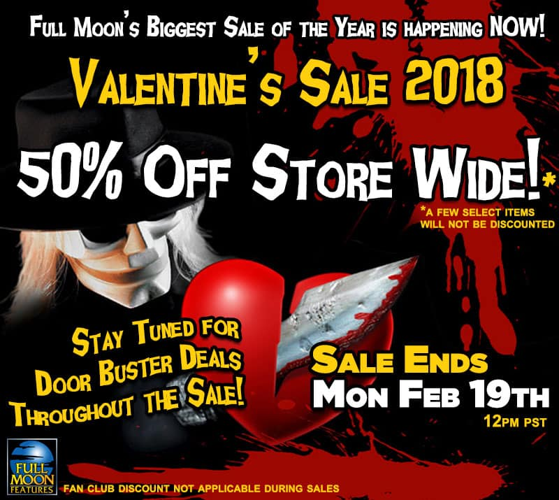Full Moon Direct Valentine's Sale. -50% off store wide