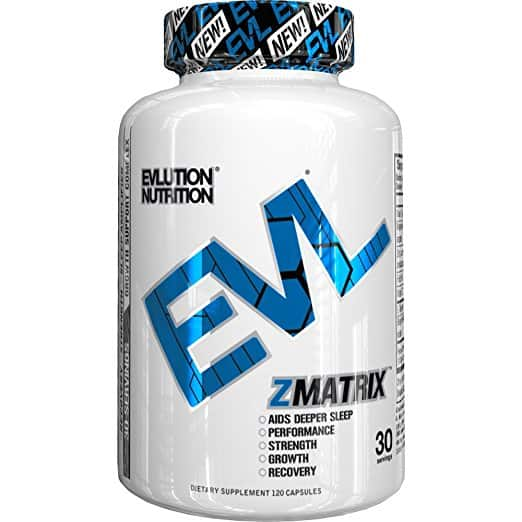 Lightning Deal Evlution Nutrition Z-Matrix Nighttime Recovery and Sleep Support  $9.99