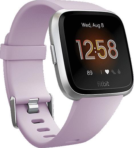 Fitbit Versa LITE Smart Fitness Watch (Pink/Silver) $40 + Free Shipping