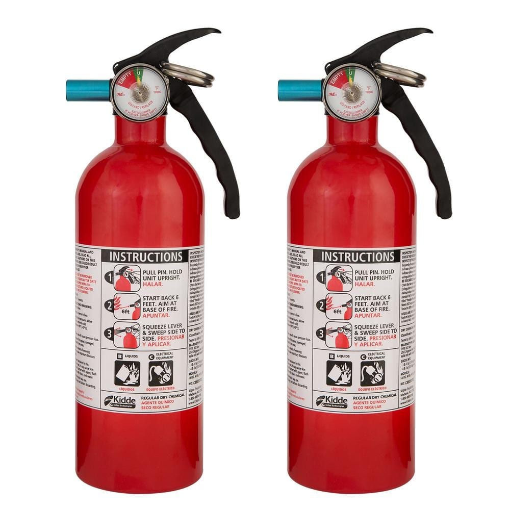 Kidde Recreational Fire Extinguisher (2-Pack) [$29 97 /bundle - was $40] $29.97
