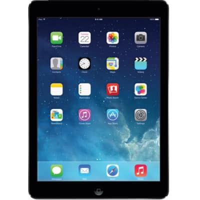 Refurbished Apple iPad Air with 9.7-Inch Retina Display and Wi-Fi in Space Gray - $99