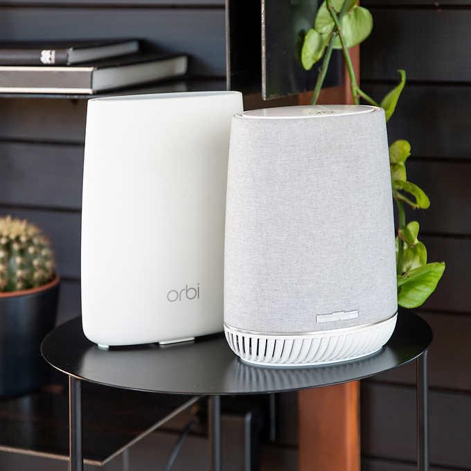 Netgear Orbi Voice Whole Home Mesh WiFi System, Built in Smart Speaker @ Costco for  $199.99