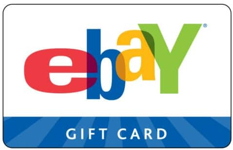 Ebay $10 Gift Card for $7