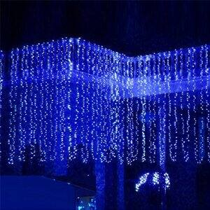 10ft Blue LED string light 10w $16.99 after coupon