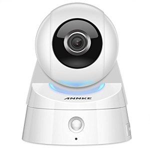 Annke 1080P(1920TVL)Wireless IP Camera/WiFi Baby monitor with PIR Alarm Sensor $68.99 AC @ Amazon